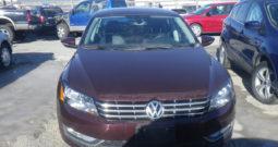 2012 VW PASSAT (STK#13116D)